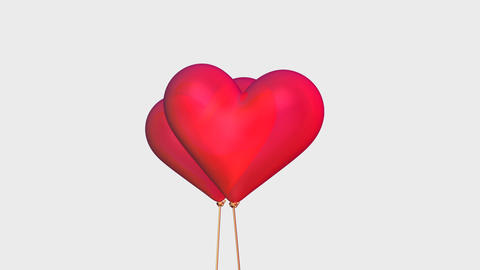 heart balloon Animation