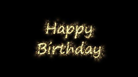 spark happy birthday Animation