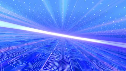 Future tech space 2 Ca Stock Video Footage