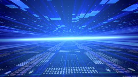 Future tech space 2 Ce Stock Video Footage