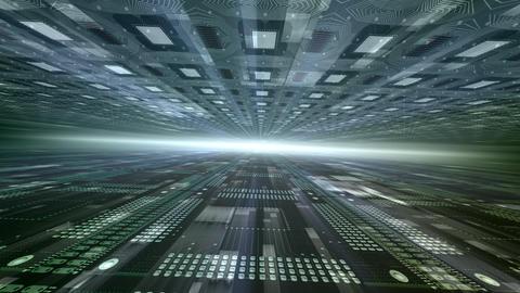 Future tech space 2 De HD Animation