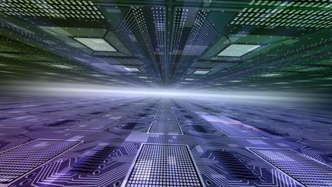 Future tech space 2 Df HD Animation