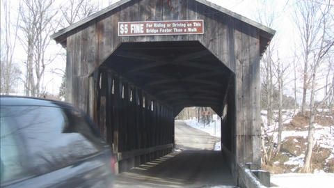 Bridge composite 2 Stock Video Footage