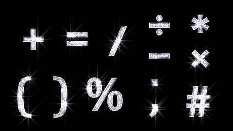 Alphabet Twinkle Silver A3 HD Animation
