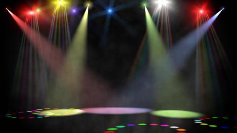 Disco scene loop Stock Video Footage