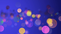 Colorful Particles Stock Video Footage