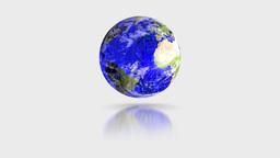 Blue Crystal Globe Stock Video Footage