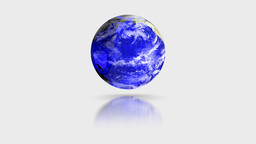 Blue Crystal Globe Stock Video Footage