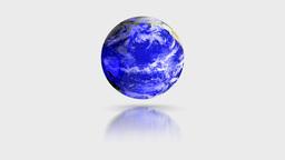 Blue Crystal Globe Animation