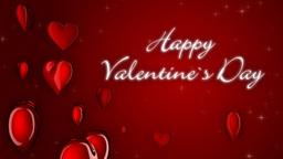 Happy Valentine's Day, loop Stock Video Footage