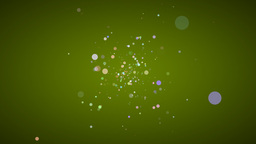 Particles In Space Stock Video Footage