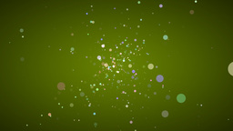 Particles In Space Animation