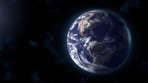 realistic Earth BG focus US Stock Video Footage