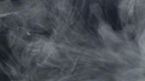 Smoke series: Smoke blue gray 1of2 Stock Video Footage