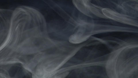 Smoke series: Smoke blue gray 1of2 Footage