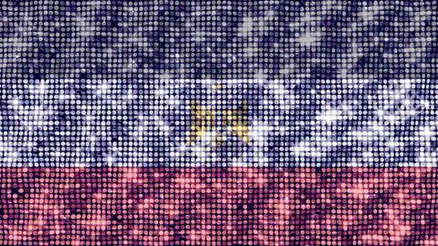 Spangle Flag Egypt Animation