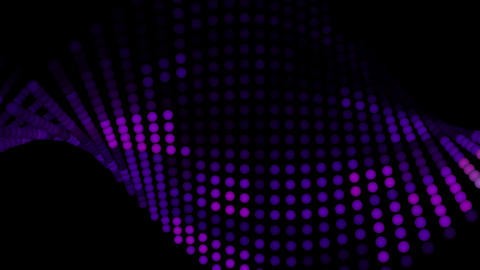 Light Balls Purple tint 1080 Stock Video Footage