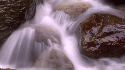 time lapse water flow 03 Footage