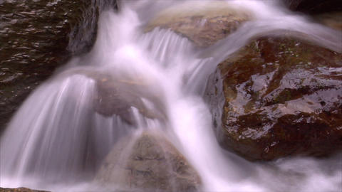 time lapse water flow 03 Stock Video Footage