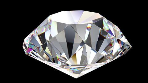 Diamond rotation loop Animation