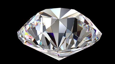 Diamond rotation loop Stock Video Footage