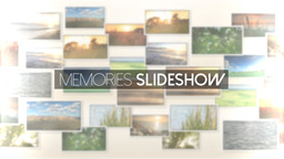Memories Slideshow - Apple Motion and Final Cut Pro X Template Apple Motionテンプレート
