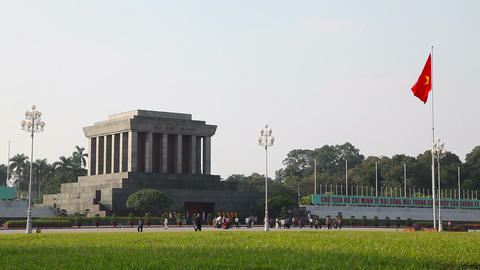 Ho Chi Minh Mausoleum Footage