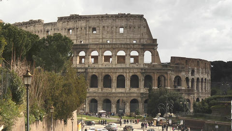 Colosseum Stock Video Footage