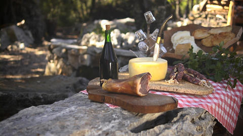 Typical Food Product, Sardinia, Italy Stock Video Footage