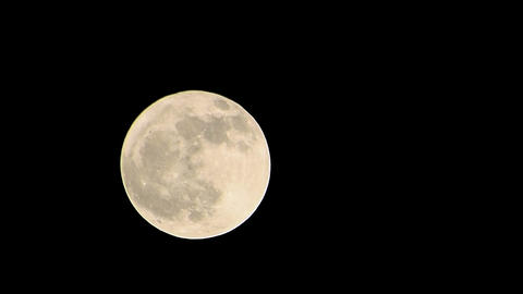 Moon timelapse Stock Video Footage