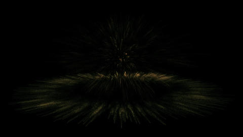 Particle explosion Stock Video Footage