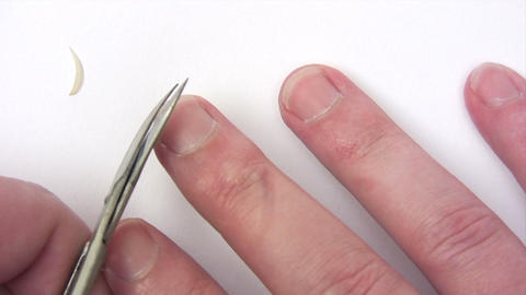 Clipping Fingernails Footage