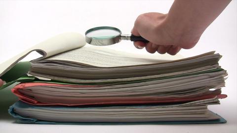 Document Examination Footage