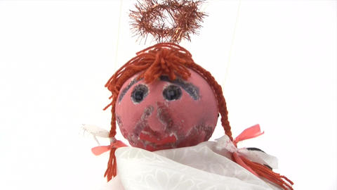 Puppet on a String Stock Video Footage