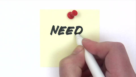 Need Money Stock Video Footage