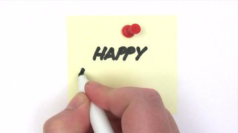 Happy Birthday Stock Video Footage