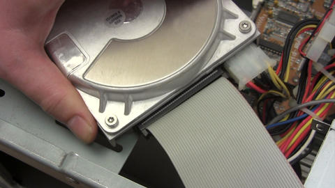 Connecting Hard Disk Footage