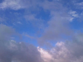 Rain clouds. Time Lapse. 320x240 Stock Video Footage