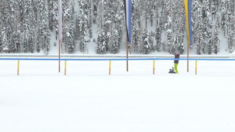 snowcat 03 Stock Video Footage