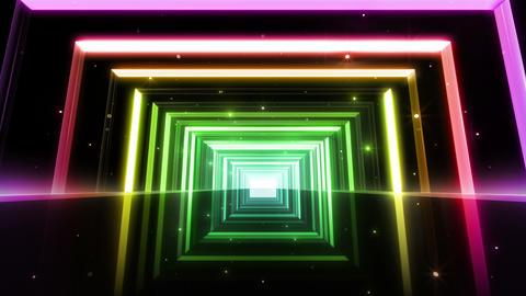 Neon tube T Fp B L 4 4 K Stock Video Footage