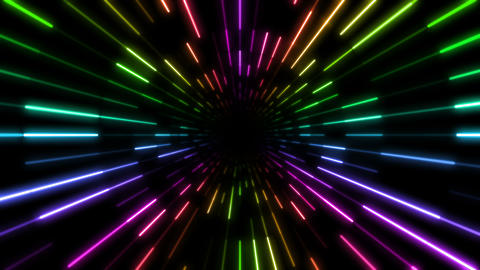 Neon tube T Ft C S 4 4 K Stock Video Footage