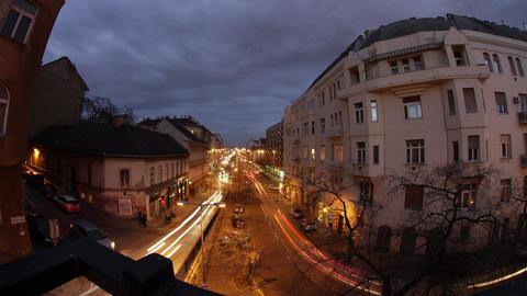 4K Budapest Evening Timelapse 36 Stock Video Footage