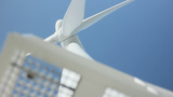 Turbine Windmill Clean Energy stock footage