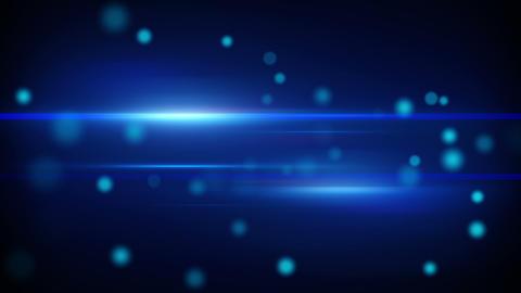 blue futuristic light stripes loopable background Animation