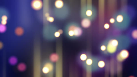 Blurred Glowing Bokeh Lights Loop Background stock footage