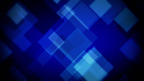 moving blue squares loopable background Animation