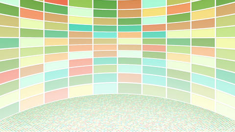 colorful rectangles loopable background Animation