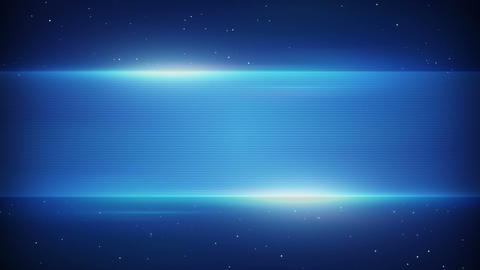 Blue Futuristic Title Plate Loopable Background stock footage