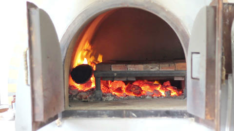 Cooking Italian Pizza