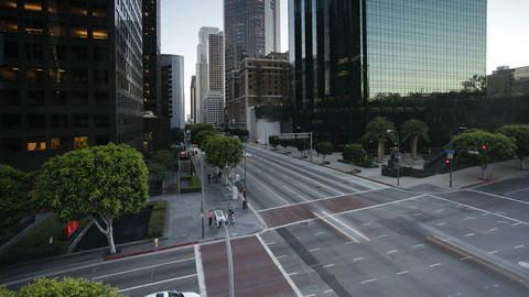 Downtown Financial Centre, Los Angeles, California Footage